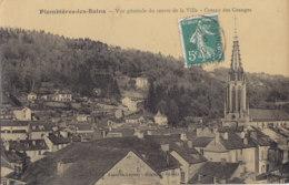 88  Vosges  -  Plombieres  Les  Bains  -  Vue  Générale  Du  Centre  De  La  Ville  -  Coteau  Des  Granges - Plombieres Les Bains