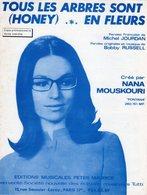 NANA MOUSKOURI - 1968 - TOUS LES ARBRES SONT EN FLEURS - EXCELLENT ETAT PROCHE DU NEUF- - Autres