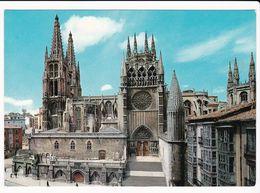 Cp , ESPAGNE , BURGOS , Cathédrale, Façade Sud - Burgos