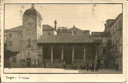 Traù, Trogir (Croazia, Ex Jugoslavia) Piazza Municipio, Torre Orologio E Loggia, Place Municipale Et Tour De L'Horloge - Croatie