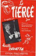 ACHILLE ZAVATTA - 1963 - LE TIERCE - COURSES / CHEVAL / JOCKEY - EXCELLENT ETAT PROCHE DU NEUF - BELLE ILLUSTRATION - - Music & Instruments