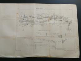 ANNALES PONTS Et CHAUSSEES (IDEP45) Pont Canal De Briare De Branches De Raccordement - 1898 - Imp L. Courtier - (CLB30) - Travaux Publics