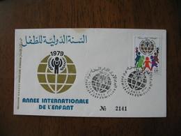 Enveloppe FDC Maroc 1979    à Voir - Maroc (1956-...)