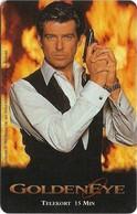 Sweden - Tele2 - James Bond 007 GoldenEye, Exp. 30.06.1997, 15Min, 15.000ex, Remote Mem. Used - Schweden