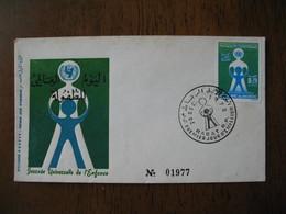 Enveloppe FDC Maroc 1972    à Voir - Maroc (1956-...)