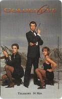 Sweden - Tele2 - James Bond 007 GoldenEye, Exp. 30.06.1997, 30Min, 10.000ex, Remote Mem. Used - Schweden