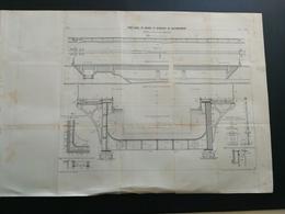 ANNALES PONTS Et CHAUSSEES (IDEP45) Pont Canal De Briare De Branches De Raccordement - 1898 - Imp L. Courtier - (CLB31) - Public Works