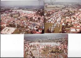 BEAUCROISSANT (ISERE) FOIRE DU 14 SEPTEMBRE 3 Photos Originales Octobre 1967 GOIZET    - COMBIER CIM Imp à Macon - Places