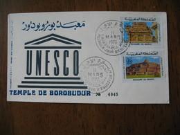Enveloppe FDC Maroc 1976    à Voir - Maroc (1956-...)