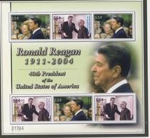 MICRONESIE 2005 FEUILLET R.REAGAN   YVERT  N°1377/78 NEUF MNH** - Micronésie