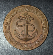 Ebauche De Plaque De Ceinturon D'officier De Marine - Marine Nationale - Uniformes