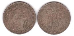 Belgisch / Congo - 1 Franc 1926 - F Lemberg-Zp - Congo (Belge) & Ruanda-Urundi
