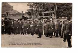 10 Troyes Sortie Du Ministre De L' Agriculture Du Concours Agricole Et Horticole 3 Et 4 Juin 1922 - Troyes