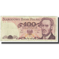Billet, Pologne, 100 Zlotych, 1979, 1979-06-01, KM:143c, TTB - Polonia