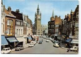 Armentieres Rue De Lille  Edit De L'Europe. Voitures Citroen 2cv DS Renault 4L.... - Armentieres