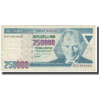 Billet, Turquie, 250,000 Lira, 1970, 1970-01-14, KM:211, TTB - Turquie