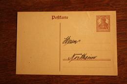 ( 2760 ) Ganzsache Deutsches Reich  P 116 I * -   Erhaltung Siehe Bild - Stamped Stationery