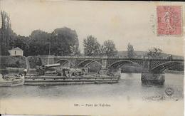 Cpa Montigny-sur-Loing-77-Pont De Valvins Bateau Spécial? DRAINE.écrite Voyagée 1903 Faire Offre - France