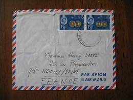Enveloppe  Fiji - Fidji     à Voir - Fidji (1970-...)