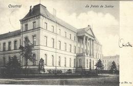 8VL-865: Courtrai  Le Palais De Justice   Nels, Série 41 N°14 - Kortrijk