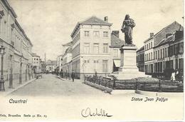 8VL-863: Courtrai  Statue Jean Palfyn   Nels, Série 41 N°19 - Kortrijk