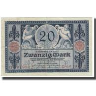 Billet, Allemagne, 20 Mark, 1915, 1915-11-04, KM:63, TTB - [ 2] 1871-1918 : Empire Allemand