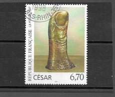 3104  OBL  Y & T    Le Pouce Œuvre   De César  ;Série Artistique     *FRANCE*  15A/32 - France