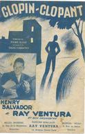 Clopin-clopant - Henry Salvador ... (p;Pierre Dudan ; M: Bruno Coquatrix), 1947 - Non Classés