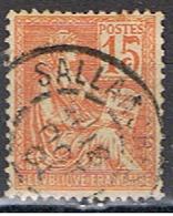 FRANCE 267 // YVERT 117  TYPE MOUCHON //  1900 - 1900-02 Mouchon