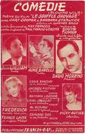 Comédie - Dario Moreno...   (p;Max François ; M: Dimitri Tiomkin), 1953 - Música & Instrumentos