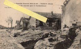 Verdun Guerre 1914 1918 Aspect Des Caserne Après Un Bombardement - Verdun