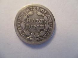 USA: 1 Half Dime 1855 - G. Half Dimes
