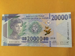 GUINEA NLP 20.000 Francs 2018 Issued 2019 UNC - Guinea