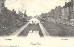 8VL-862: Courtrai  Le Canal   Nels, Série 41 N°21 - Kortrijk