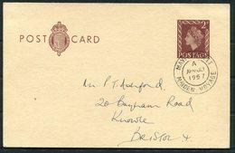 1957 GB 3 X MAYFLOWER 2 Maiden Voyage Ship Covers / Stationery Postcard - Different Postmarks - 1952-.... (Elizabeth II)