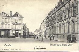 8VL-861: Courtrai  Un Coin De La Grand'Place   Nels, Série 41 N°26 - Kortrijk