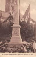 Saint Laurent En Brionnais Canton La Clayette Monument Aux Morts Combier Cim - Altri Comuni