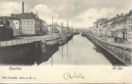8VL-860: Courtrai  La Lys   Nels, Série 41 N°24   Binnenvaart - Kortrijk