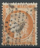 Lot N°47838  N°38, Oblit étoile Chiffrée 1 De PARIS (Pl De La Bourse) - 1870 Siege Of Paris