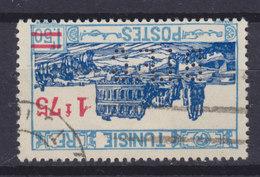 Tunisia Perfin Perforé Lochung 'B.I.F.C.' 1937 Mi. 211  1.75 Fr Auf 1.50 Fr Overprinted Aufdruck (2 Scans) - Tunesien (1956-...)
