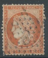 Lot N°47840  N°38, Oblit étoile Chiffrée 8 De PARIS (R. D'Antin) - 1870 Siege Of Paris