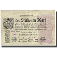Billet, Allemagne, 2 Millionen Mark, 1923, 1923-08-09, KM:104a, TB - [ 3] 1918-1933 : Repubblica  Di Weimar