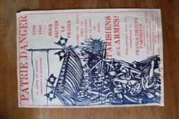 Affiche Clandestine 1939 1945 1792 1943  Parisiens Au Armes FTP - 1939-45