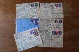 Courriers Allemands Et Italien Dont Cachet Censure  Militaire - 1939-45