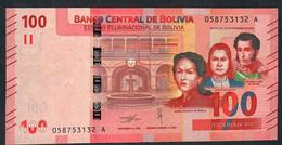 BOLIVIA NLP100 BOLIVIANOS 28.11.1986 Issued  2019 #0-----A  Signature 94      UNC. - Bolivia