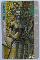 CAMBODIA - Telstra - $2 - Anritsu - Statue - Mint - Kambodscha
