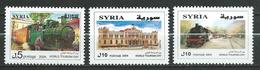 Syria Syrie - 2004 International Tourism Day - Hedjaz Railway,trains.locomotives.  MNH - Siria