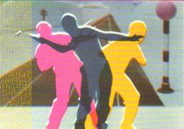 """Carte Postale """"Cart'Com"""" (2000) - Centre Pompidou - Len Lye - Films Et Oeuvres Plastiques - Peintures & Tableaux"""