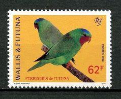 WALLIS FUTUNA 1994 N° 471 ** Neuf MNH Superbe C 2.10 € Faune Oiseaux Birds Fauna Perruches - Wallis Y Futuna