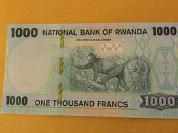 RWANDA NLP 1000 Francs 2019 UNC - Rwanda